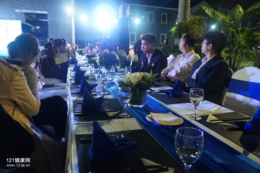 第十七届中国国际保健博览会烧烤晚宴
